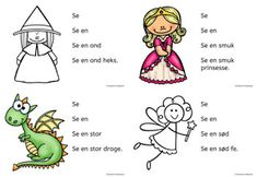 Ideer til indskolingen: Læsning Danish Language, Cooperative Learning, Preschool, Classroom, Education, Comics, Uganda, School Stuff, Design