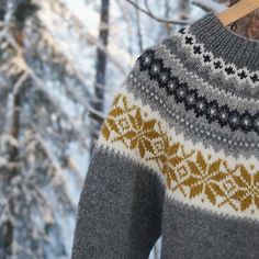 Nancy kofte, kofta, cardigan, sweater, tröja, genser Knitted Hats, Men Sweater, Knitting, Jumpers, Sweaters, Instagram, Fashion, Moda, Tricot