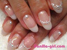 Vanilla Girl Nail Art