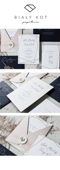 Zaproszenia ślubne ze złotą ramką. Invitation Design, Ariana Grande, Wedding Invitations, Wedding Day, Marriage, Weddings, Cards, Marriage Invitation Card, Invitations