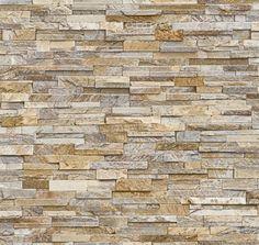 Dekorační obklad stěny - Kamenná stěna béžová