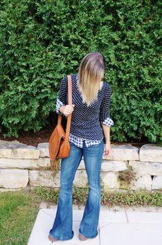 fall fashion // my kind of sweet // flare denim