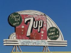Neon Signs ... Fresh Up with 7up