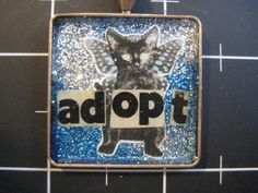 Hey, I found this really awesome Etsy listing at https://www.etsy.com/listing/180010079/adopt-a-black-cat-pendant-winged-kitty