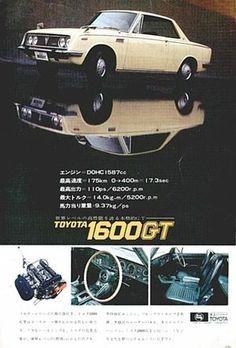 トヨタ・1600GT 1965