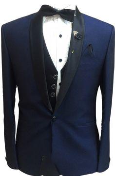 Stunning Denim Blue Designer Blazer