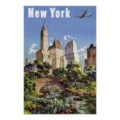 Vintage New York City Travel