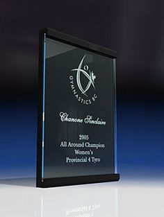 Floating Plaque - Wide - Recognition Crystal or Glass Awards by Eclipse Awards Glass Awards, Custom Awards, Wall Plaques, Photo Studio, Crystals, Detail, Crystal, Photography Studios, Crystals Minerals
