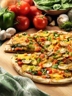 Organic Garden Pizza