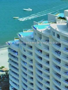 Hotel Irotama del Sol in Santa Marta, Colombia | We stayed here while adopting - that's right penthouse with own pool and spa.... AMAZING