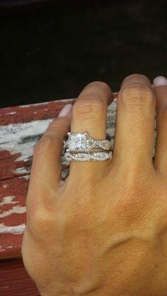 3 carat princess cut engagement ring - Weddingbee | Page 2