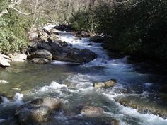 A river runs through it -- Great Smoky Mountains National Park.