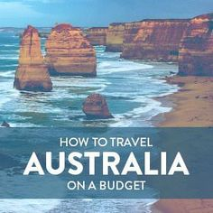 How to Travel in Australia on a Budget Budget travel tips #travel #budget #TravelHelp