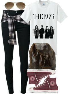 White tee / BLK DNM black denim jeans / Shorts, $110 / Converse sneaker / Patricia nash bag / Ray-Ban folding sunglasses