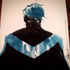Batman Family: Nightwing Dick Grayson by Dustin Nguyen