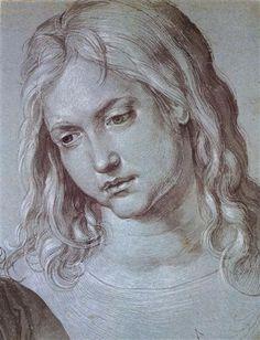 Head+of+the+twelve+year+old+Christ+-+Albrecht+Durer