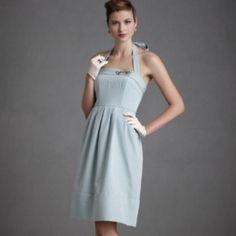 Light blue dress  http://www.bhldn.com/explore%5Fengagement%2Dparties%5Fdressing/vox%2Dpopuli%2Ddress%2Dblue