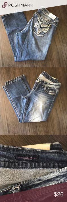 Vigoss Jeans size 16 Vigoss jeans. Excellent condition. Size 16 length 32 Vigoss Jeans Straight Leg