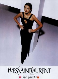 Yves Saint Laurent Rive Gauche Ad Campaign Fall/Winter 1994