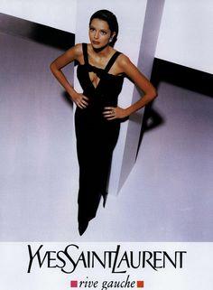 Yves Saint Laurent Rive Gauche Ad Campaign Fall/Winter 1994