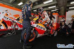 Márquez, con opciones matemáticas pero sin prisas. #MotoGP #motos #MarcMárquez