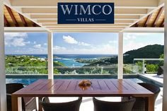 Villa Plein Ciel is a 3-bedroom villa located in Marigot, St. Barths within minutes of 2 beaches and shopping. Rent today starting at $6,200/ week during the winter season! #stbarths #villavental #travel #caribbean #villas #wimco