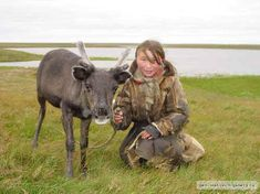 girl who lives with reindeer