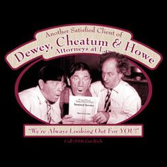 the stooges t-shirt ATTORNEYS AT LAW funny three stooges tee