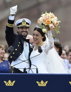 The Swedish Royals had a breathtaking wedding! Click through to see the best pictures.
