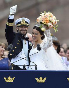 Prince Carl Philip and Sofia Hellqvist Wedding Pictures   POPSUGAR Celebrity