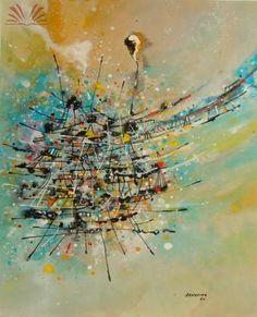 Catálogo das Artes - Preço e Cotações de Obras de Arte - Antonio Bandeira (1922-1967)