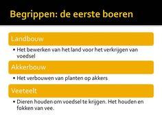 Belangrijke begrippen http://maaikezijm.com/2013/11/13/de-eerste-boeren/