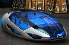 Future Transportation - HXO – Futuristic Vehicle Powered by Solar Energy Future Concept Cars, Future Car, Future Tech, Colani Design, Design Transport, Future Transportation, Mercedes G Wagon, Solar Car, Audi A7