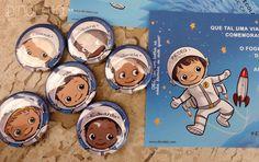 DINOLETA: Convite Viagem Espacial: Pedro - 6 anos