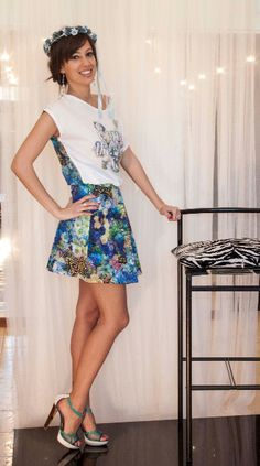 Model Spring Summer, Maison Espin, Guess, Class Cavalli. 2015
