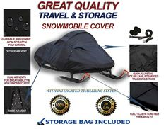 Great Snowmobile Sled Cover fits Ski Doo Summit Everest 800R 146 2010