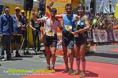 La Palma Transvulcania-2014-Ultramaratón ganadores-Luis-Alberto-kilian-y-Sage-Foto Raquel Concepción- escuela de Arte de #LaPalma