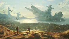 Ficção científica e fantasia nas ilustrações de Sylvain Sarrailh                                                                                                                                                                                 Mais