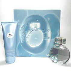 Estuche promocional del #perfume para mujer Inspiration de #Lacoste