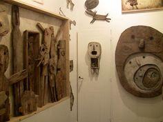 Les Chats Pelés Door Handles, Clock, Home Decor, Cats, Door Knobs, Watch, Decoration Home, Room Decor, Clocks