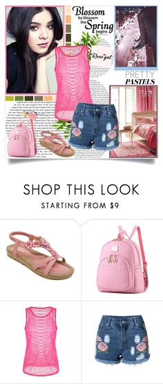 """""""RoseGal 85"""" by followme734 ❤ liked on Polyvore featuring Lanvin and Seed Design"""