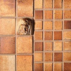 """Burnt Umber: 2"""" Hercules Rosette, 1X1 Field Tiles, 2X2 Field Tiles"""