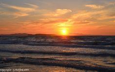 Sunset in Corfu, Agios Stefanos, Peloponnese Western Greece, Ionian Island_ Greece