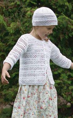 Lapsen virkattu jakku ja pipo | Neulevinkit | Harrastukset | Pirkka