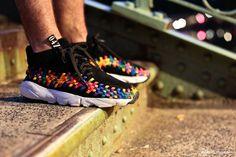 Nike Air Footscape Woven Chukka Rainbow Pinterest @emiletemana