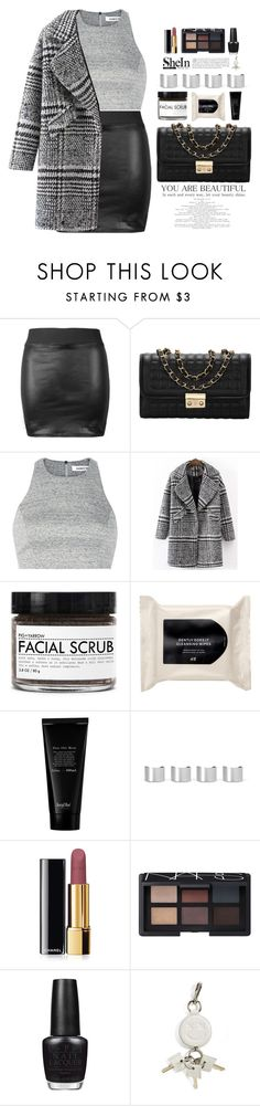 """""""Untitled #891"""" by mycherryblossom ❤ liked on Polyvore featuring Elizabeth and James, Fig+Yarrow, H&M, Maison Margiela, Chanel, NARS Cosmetics, OPI, Alexander Wang, polyvoreeditorial and polyvorestyle"""