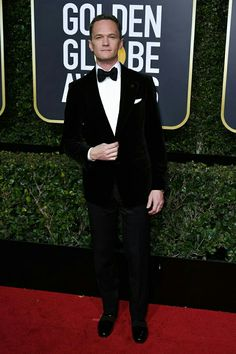 Neil Patrick Harris at the 2018 Golden Globes.