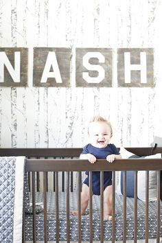 Celebrity Design Reveal Jenn Brown And Wes Chatham S Nursery Simple Boy Namesbaby