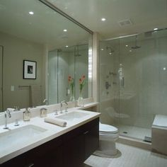 Narrow Master Bathroom Design, Pictures, Remodel, Decor and Ideas
