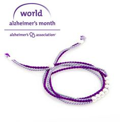 Of Proceeds Go To Alzheimer S Ociation Win Awareness And Fundraising World Month Bracelet Cj Free Jewelry